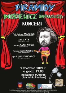 "Grupės PIRAMIDY koncertas ""MICKIEWICZ UNPLUGGED"""
