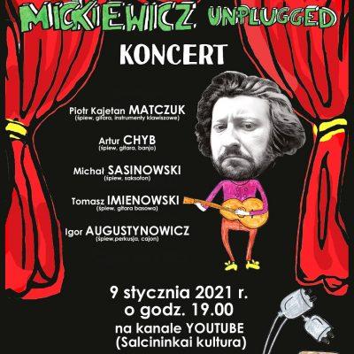 "Grupės PIRAMIDY koncertas ""Mickiewicz uplugged"""
