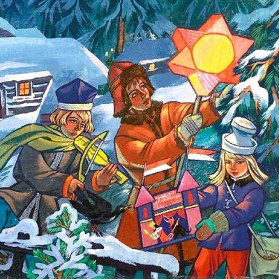 Kalėdavimas Turgeliuose