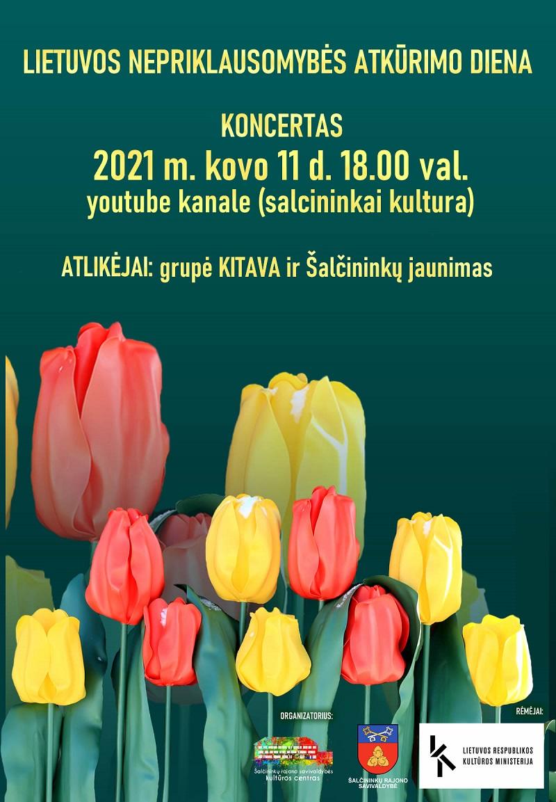 Lietuvos nepriklausomybė atkūrimo dienos minėjimo koncertas