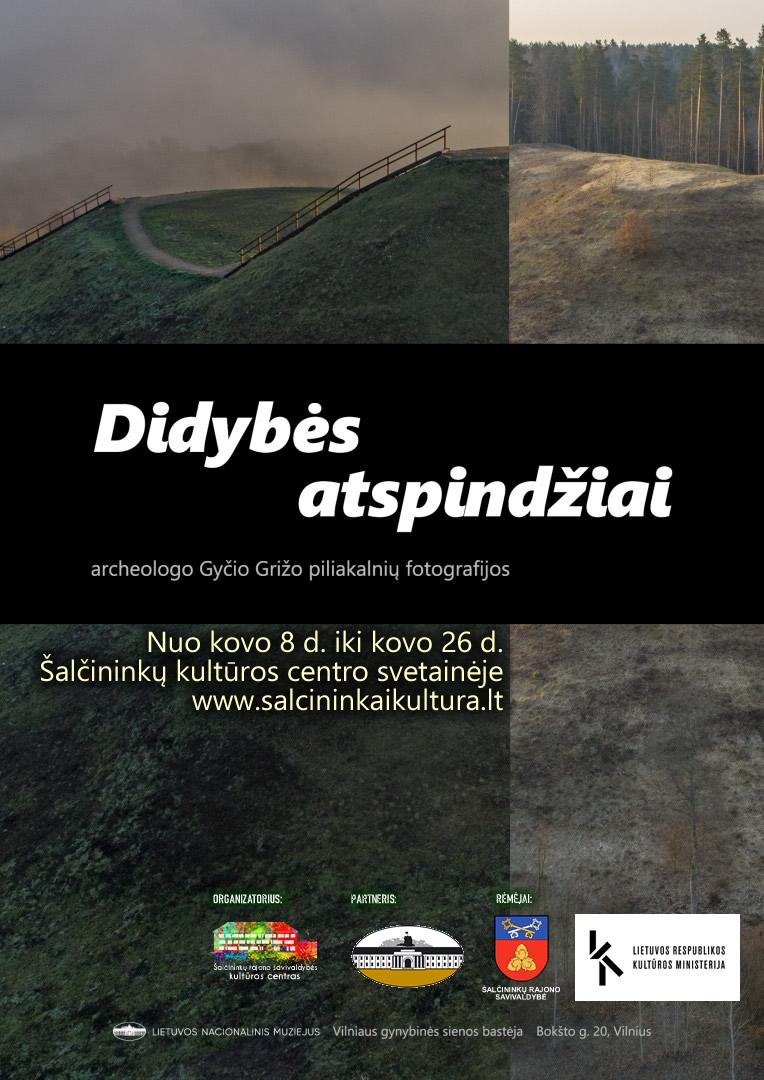 """Lietuvos nacionalinio muziejaus paroda """"Didybės atspindžiai"""""""