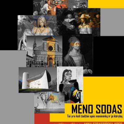 """Virtualių susitikimų ciklas su Anna Szpadzińska-Koss """"MENO SODAS"""""""