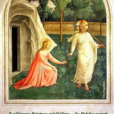 Sveiki sulaukę Šv. Velykų!