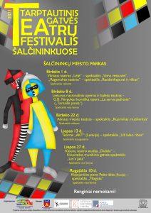 Tarptautinis gatvės teatrų festivalis Šalčininkuose @ Šalčininkų miesto parke