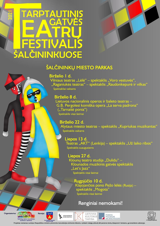 You are currently viewing Tarptautinis gatvės teatrų festivalis Šalčininkuose