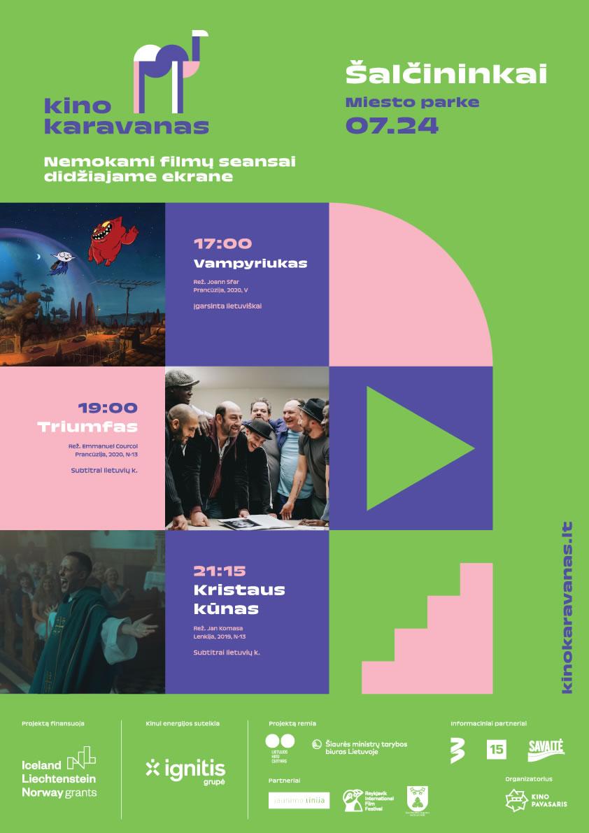 You are currently viewing KINO KARAVANAS   nemokami seansai Šalčininkuose