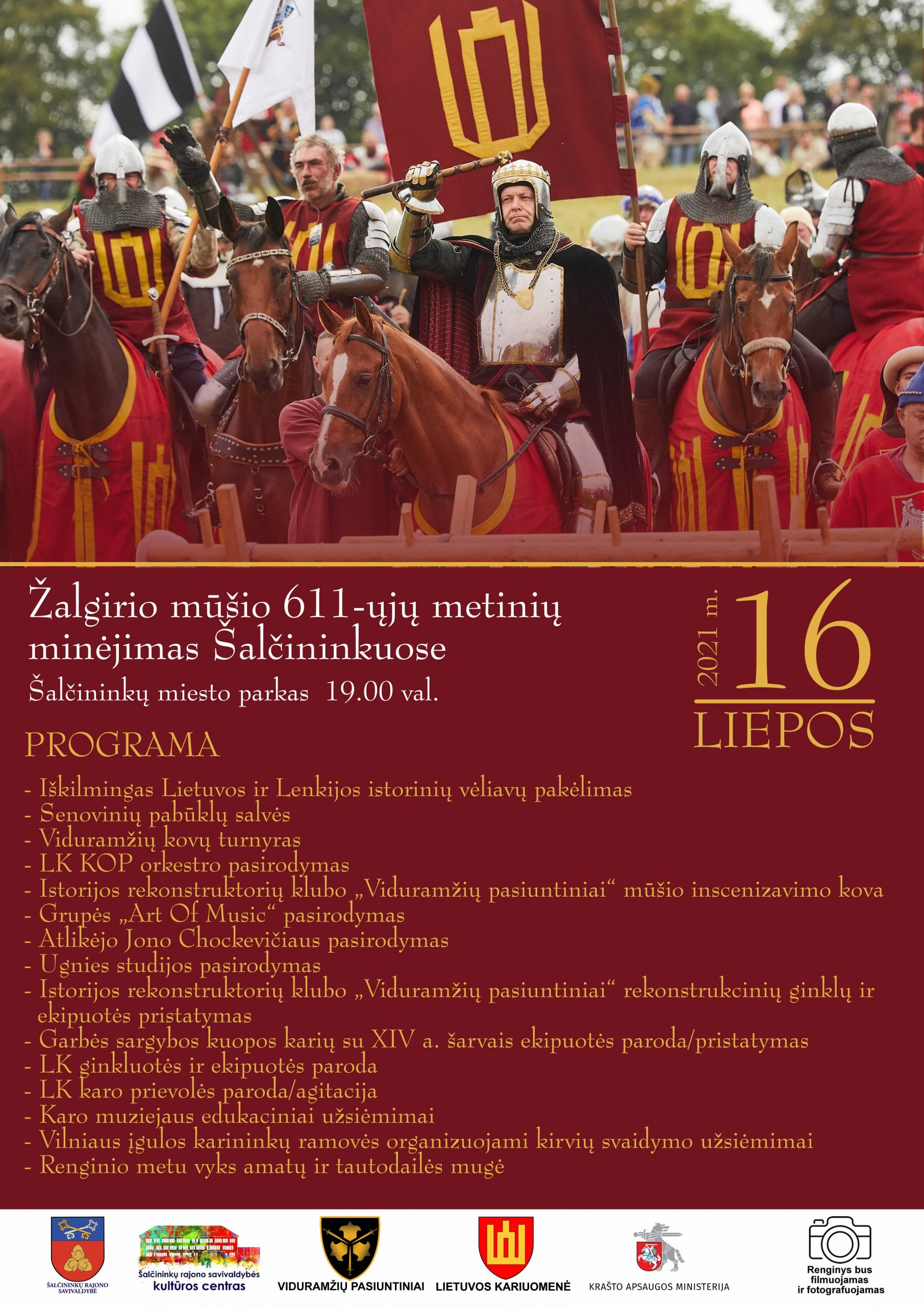 You are currently viewing Žalgirio mūšio 611-ųjų metinių minėjimas Šalčininkuose